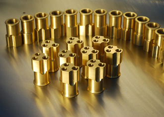 brass parts manufacturing